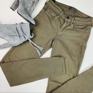 VINCE Riley Legging Military Green Skinny Jeans (8